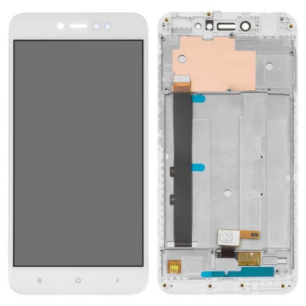 Genuine Xiaomi Redmi Note 5A Prime IPS LCD Display Screen White | Part Number: 560410007033 | Delivered in EU UK and rest of the world |