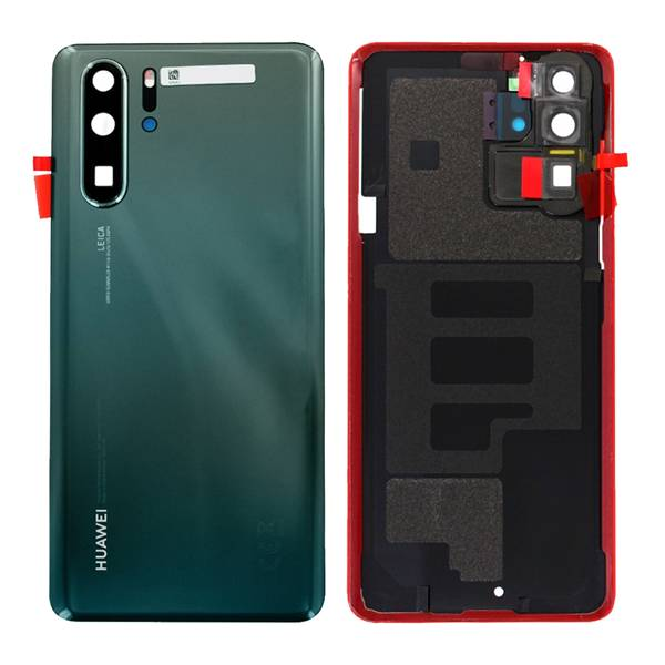 Genuine Huawei P30 Pro Battery Back Cover Mystic Blue   Part Number: 02353FLV   Delivered in EU UK and rest of the world  