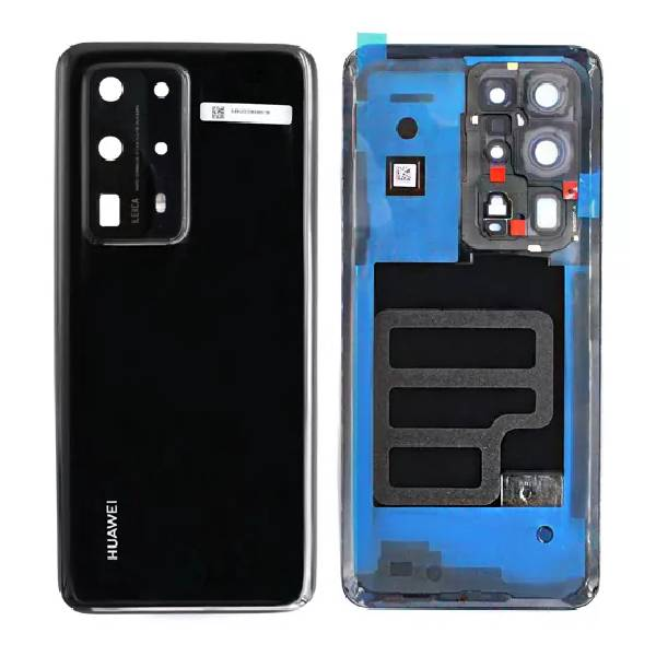 Genuine Huawei P40 Pro Plus Battery Back Cover Black   Part Number: 02353SKU   Delivered in EU UK and rest of the world  
