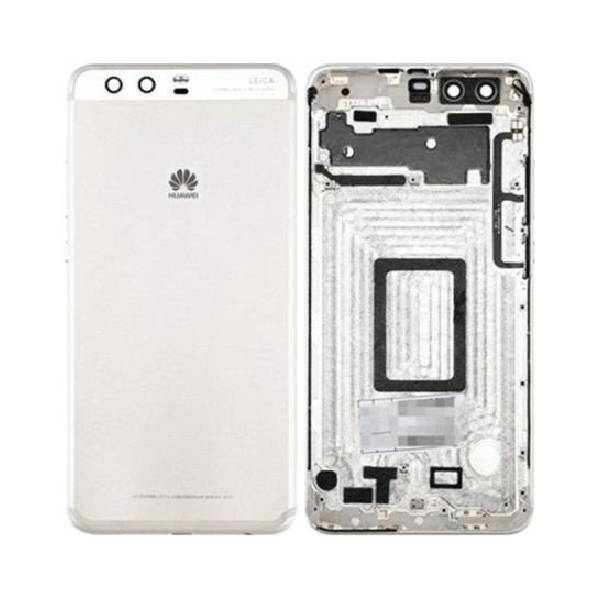 Genuine Huawei P10 Plus Battery Back Cover Silver   Part Number: 02351EUD   Delivered in EU UK and rest of the world  