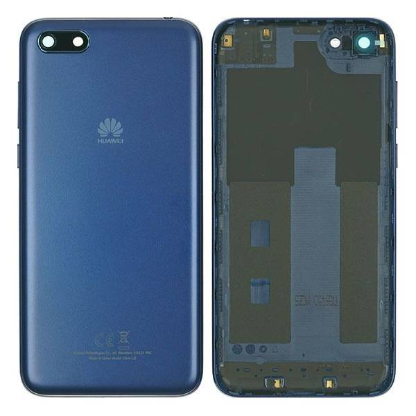 Genuine Huawei Y5 2018 Battery Back Cover Blue   Part Number: 97070URV   Delivered in EU UK and rest of the world  