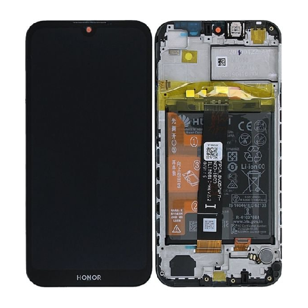 Genuine Huawei Honor 8S IPS LCD Display Touch Screen With Battery Black | Part Number: 02352QTB | Delivered in EU UK and rest of the world |