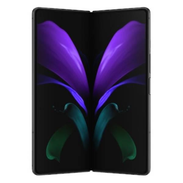 Genuine Samsung Galaxy Z Fold 2 5G Foldable Dynamic Amoled Display Mystic Black Gold Hinge | Part Number: GH82-24296B|