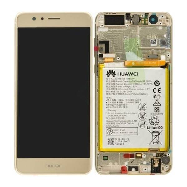 Genuine Huawei Honor 8 LTPS IPS LCD Display Touch Screen Gold   Part Number: 02350VBF   Price: £24.99   In Stock   Phoneparts