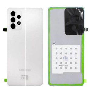 Genuine Samsung Galaxy A72 4G A725 Battery Back Cover White | Product Number: GH82-25448D | Price: 16.99 | In Stock |