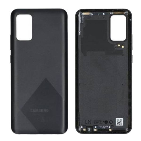 Genuine Samsung Galaxy A02S A025 Battery Back Cover Black | Part Number: GH81-20239A| Price: £12.99 | In Stock |
