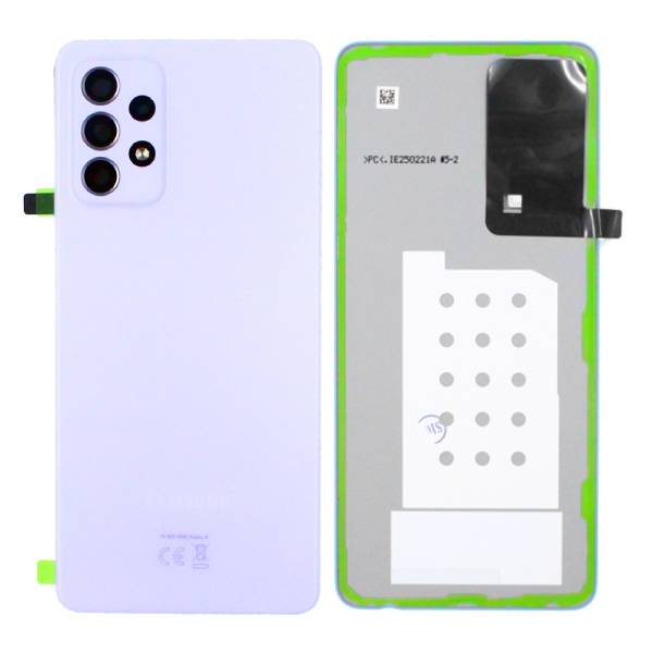 Genuine Samsung Galaxy A52 5G A526 Battery Back Cover Violet | Part Number: GH82-25225C | Price: £16.99 | In Stock |