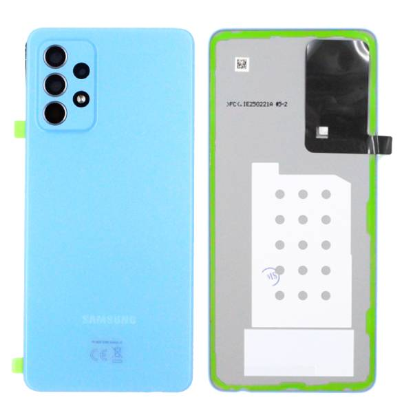 Genuine Samsung Galaxy A52 5G A526 Battery Back Cover Blue | Part Number: GH82-25225B | Price: £16.99 | In Stock |