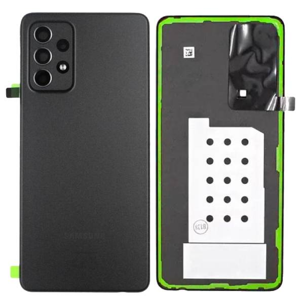 Genuine Samsung Galaxy A52 5G A526 Battery Back Cover Black | Part Number: GH82-25225A | Price: £16.99 | In Stock |