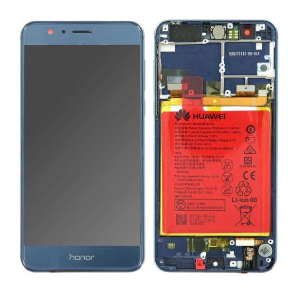 Genuine Huawei Honor 8 LTPS IPS LCD Display Touch Screen Blue | Part Number: 02350WVB | Price: 27.99 | In Stock | Phoneparts |
