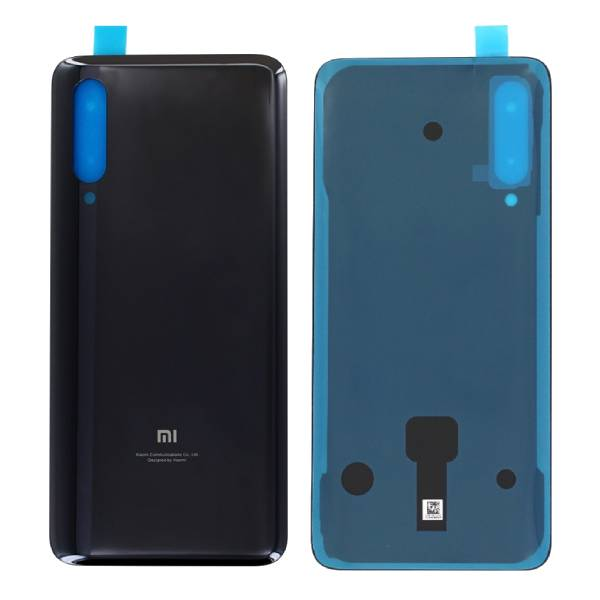 Genuine Xiaomi Mi 9 Battery Back Cover Tarnish Black | Part Number: 5540440000A7 | Price: £20.99 | In Stock | Phoneparts |
