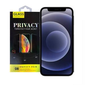 iPhone 12 Mini Privacy Glass Screen Protector | Price: £2.99 | Delivered in EU UK and rest of the world | Phoneparts |