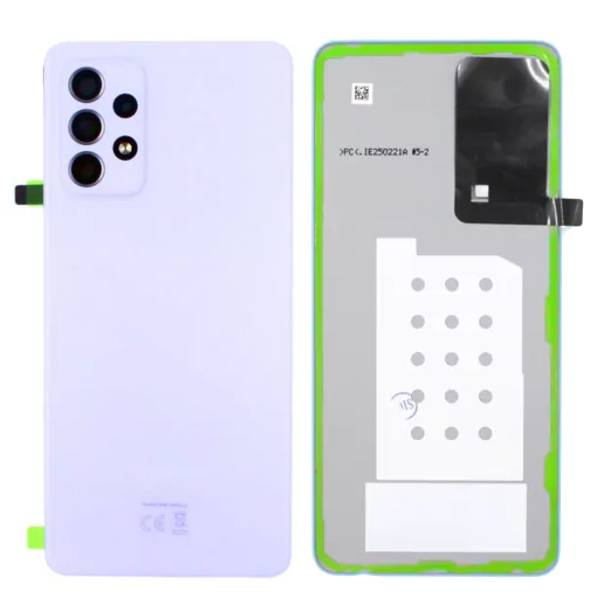 Genuine Samsung Galaxy A52 4G Battery Back Cover Violet   Part Number: GH82-25225C   Price: £16.99   In Stock   Phoneparts  