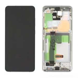 Genuine Samsung Galaxy S20 Ultra Dynamic AMOLED Screen White No Camera   Part Number: GH82-26032C   Price: £174.99   In Stock  