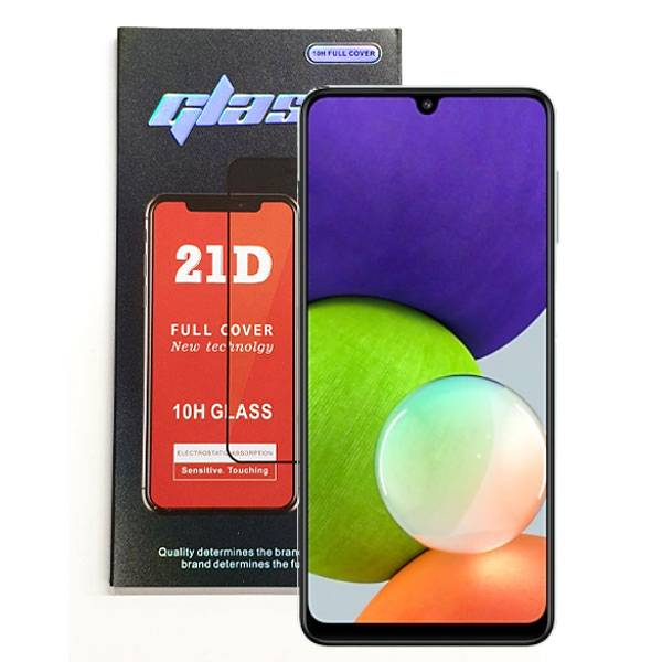 Samsung Galaxy A22 5G A226 Full Glue Tempered Glass   Price: £2.99   In Stock   Phoneparts   Delivered in EU UK and rest of the world  