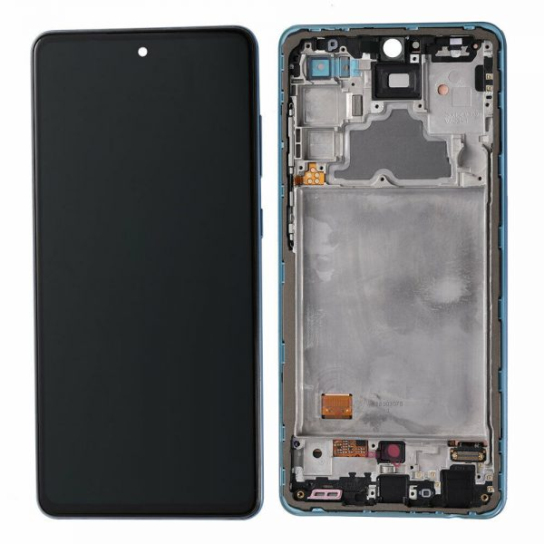 Genuine Samsung Galaxy A72 4G A725 Super AMOLED Display Touch Screen Blue