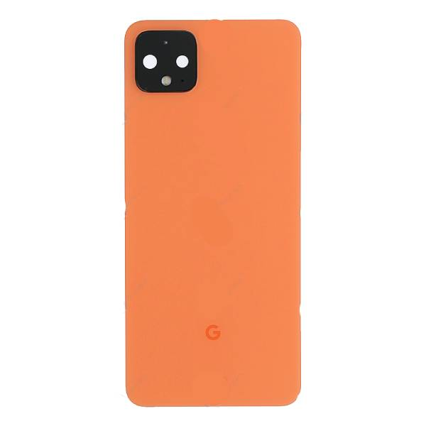 Genuine Google Pixel 4 XL Battery Back Cover Orange | Part Number: 20GC20W0009 | Price: £36.99 | In Stock | Phoneparts |