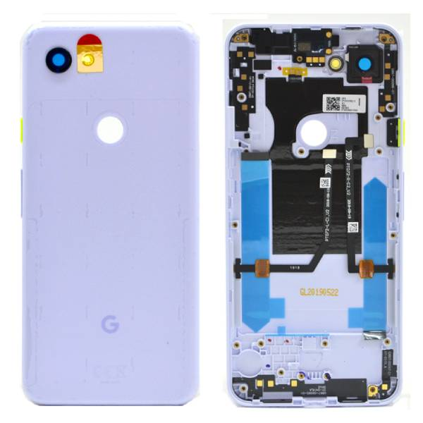 Genuine Google Pixel 3A Battery Back Cover Purple-ish   Part Number: 20GS4PW0003   Price: £27.99   In Stock  