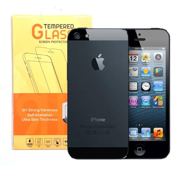 iPhone 5 5S Tempered Glass