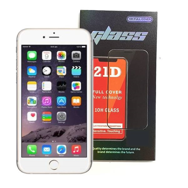 iPhone 6 Plus 6S Plus Full Glue 21D Tempered Glass Screen Protector