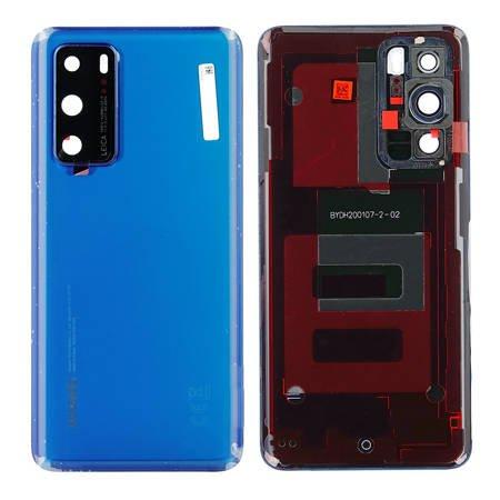 Genuine Huawei P40 Battery Back Cover Deep Sea Blue – 02353MGC