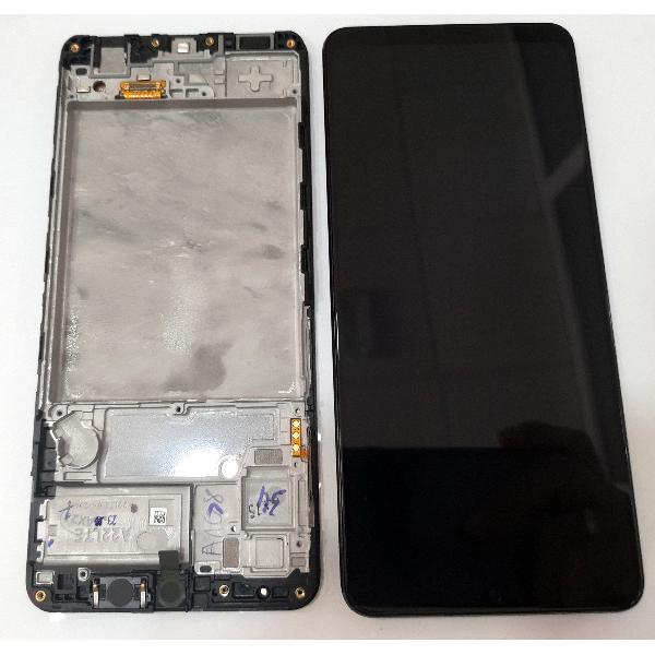 Genuine Samsung Galaxy A22 SM-A225 4G TFT Display Touch Screen Black – Service Pack – GH82-25944A