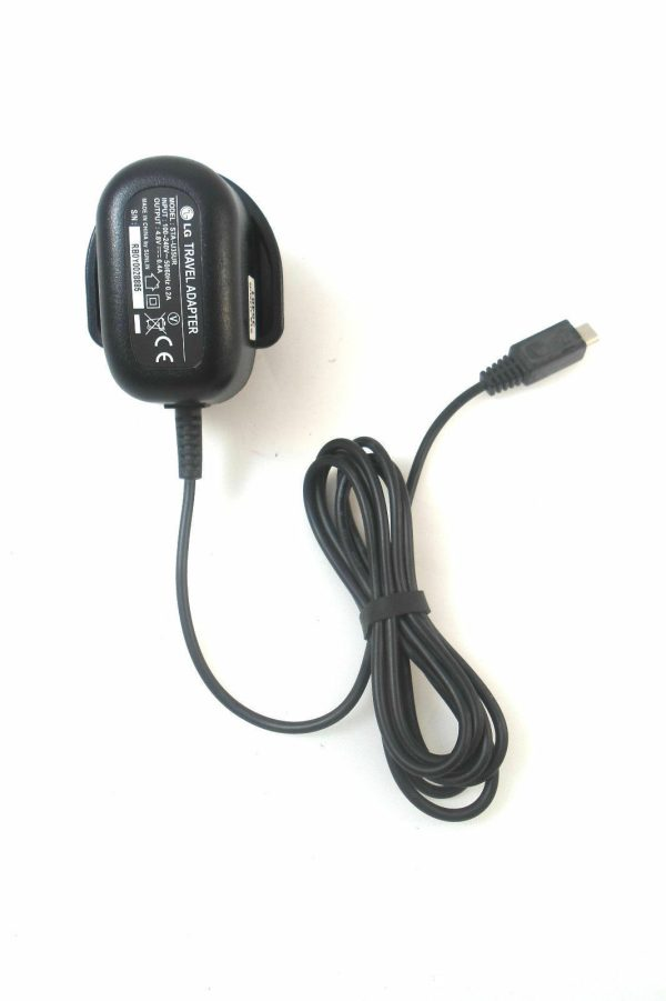 Genuine LG Mains Charger Travel Adapter Model STA-U35UR UK