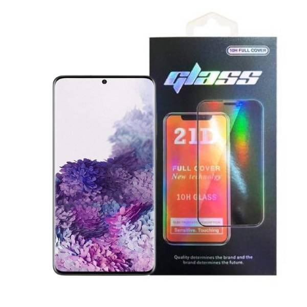 Samsung Galaxy S20 Full Glue 21D Tempered Glass Screen Protector