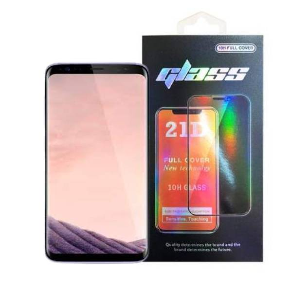 Samsung Galaxy S8 Plus Full Glue 21D Tempered Glass Screen Protector