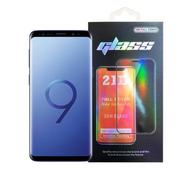 Samsung Galaxy S9 Full Glue 21D Tempered Glass Screen Protector